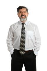 Hispanic Senior Businessman