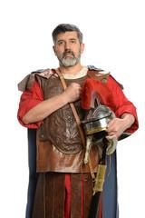 Roman Soldier Saluting