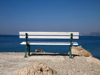 Bench near the sea