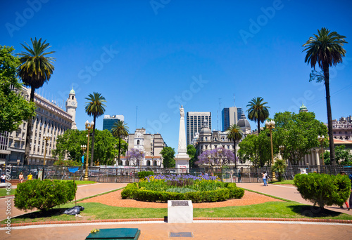 Foto op Canvas Zuid-Amerika land Beuatiful view of Buenos Aires capital of Argentina