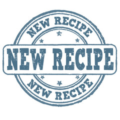 New recipe stamp