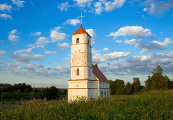Old orthodox church in Belarus (zaslaue)