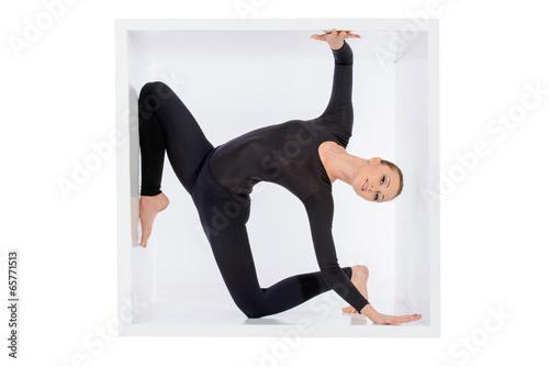 Plexiglas sensual body