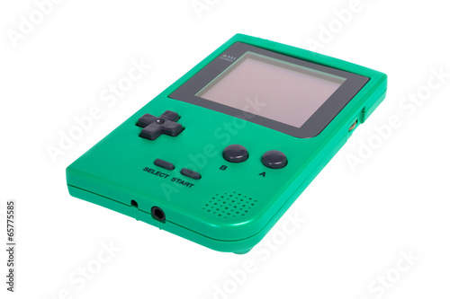 Leinwandbild Motiv Game Boy