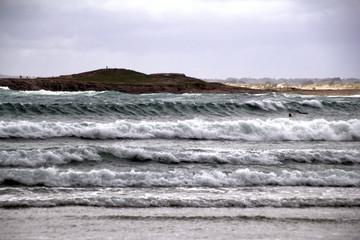Brandung im atlantischen Ozean