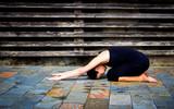 Fototapety Yoga woman