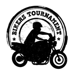 Bikers tournament stamp