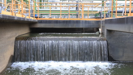 Waste water tradment in factory