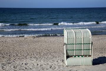 Strandkorb an der Ostsee Hohwachter Bucht