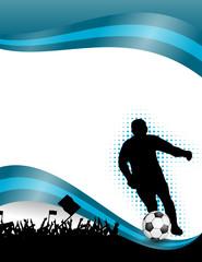 fussball-plakat XXI