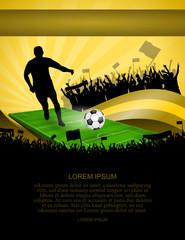 fussball-plakat XXII