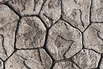 Texture of stone paving