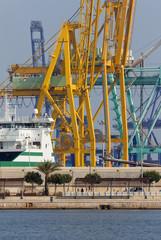 Seaport of Valencia
