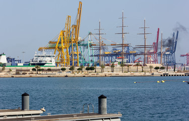 Seaport of Valencia