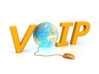 Voip technology - concept