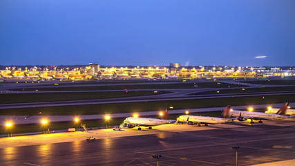 Airplane Time Lapse Airport