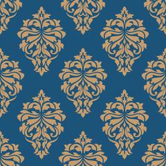 Elegance floral damask seamless pattern