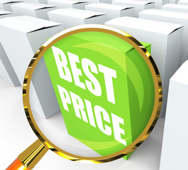 Best Price Packet Represents Bargains and Discounts