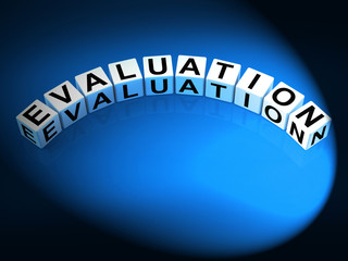 Evaluation Letters Show Judgement Assessment And Review
