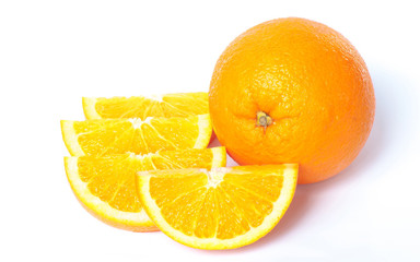 Juicy orange Isolated