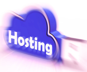 Hosting Cloud USB drive Shows Online Data Hosting