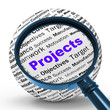 Projects Magnifier Definition Means Programming Activities Or En