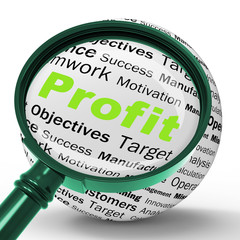 Profit Magnifier Definition Means Company Growth Or Performance