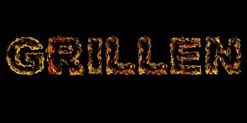 GRILLEN - FEUER und FLAMME - ABC