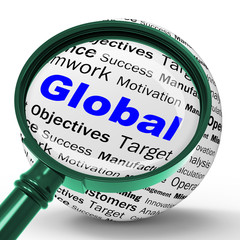 Global Magnifier Definition Means International Communications O