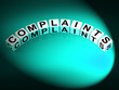Complaints Letters Means Dissatisfied Angry And Criticism