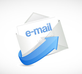 email illustration design