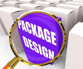 Package Design Packet Infers Designing Packages or Containers