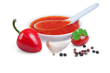 red hot chilli sauce