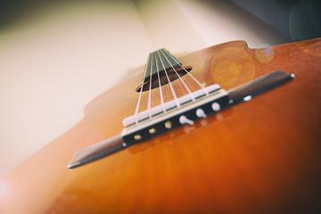 Classical Guitar Lens Flare