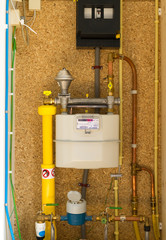 Gas, water and electic meter