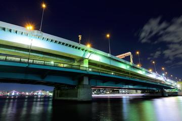 Highway in Tokyo