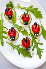 Tomaten-Marienkäfer