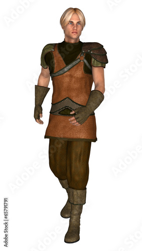 canvas print picture Young Viking