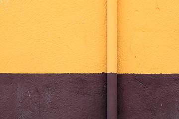 gutter on a wall