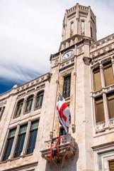 Palazzo Bacaredda, sede del municipio di Cagliari, Sardegna
