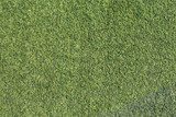 artificial green grass turf texture background poster