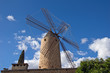 canvas print picture - Windmühle in Mallorca