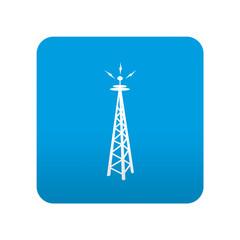 Icono localizacion simbolo antena
