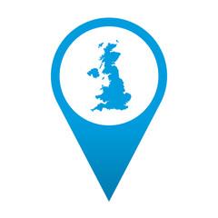 Icono localizacion Gran Bretaña