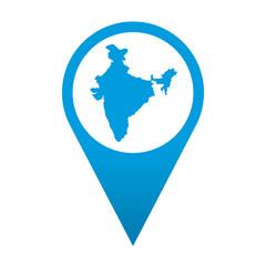 Icono localizacion India