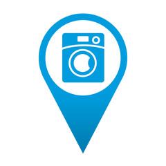 Icono localizacion simbolo lavadora
