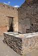 Leinwanddruck Bild - Ruins of ancient Roman city of Pompeii