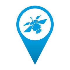Icono localizacion simbolo satelite
