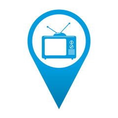 Icono localizacion simbolo TV