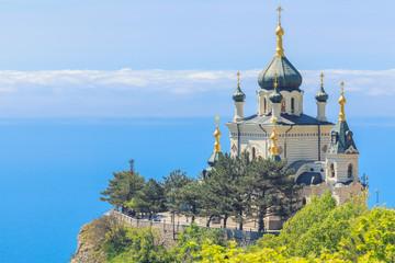 The Church over the sea in Foros, Crimea